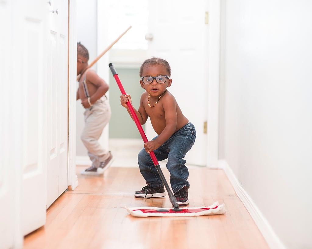 kids mopping weakness ywam thailand