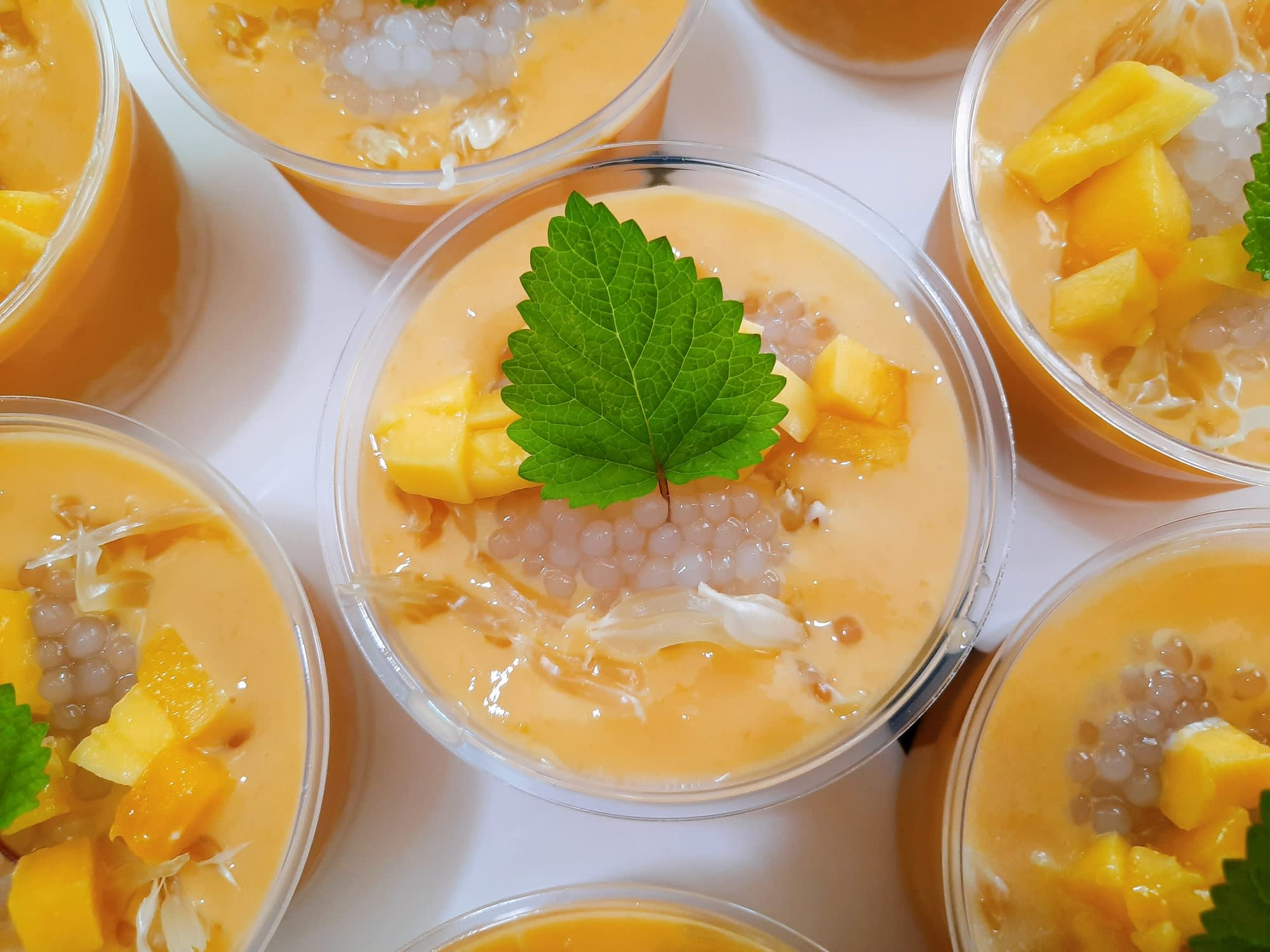Mango Pomelo Dessert – Bless From Home
